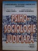 Maria Voinea - Psiho-sociologia judiciara