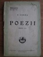 Panait Cerna - Poezii (1925)